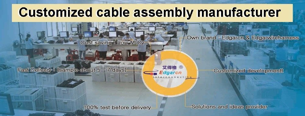 China best Circular Connector Cable Assembly on sales
