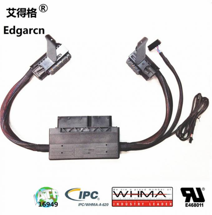 Ecu Automotive Engine Wiring Harness Fits Bosch Vehicle Whma / Ipc620 Ul Approved