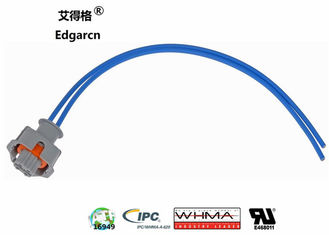 Length 200mm Engine Wiring Harness 1 Connector 2 Wire Temperature Sensor Pigtail