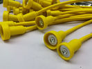 Yellow Cable Wire Harness Magnetic Safe Cable Pvc Jacket With Overmolded Ends