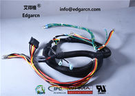 Black / Red Edgarcn Game Machine Harness 24 - 18awg With Oem Odm Service