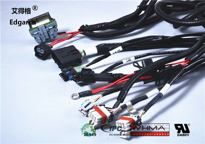 Customized Universal Automotive Wiring Harness With Whma / Ipc620 Ul on universal radio harness, lightweight safety harness, universal heater core, universal battery, universal equipment harness, universal fuel rail, universal ignition module, stihl universal harness, universal miller by sperian harness, universal fuse box, universal air filter, universal steering column, construction harness,