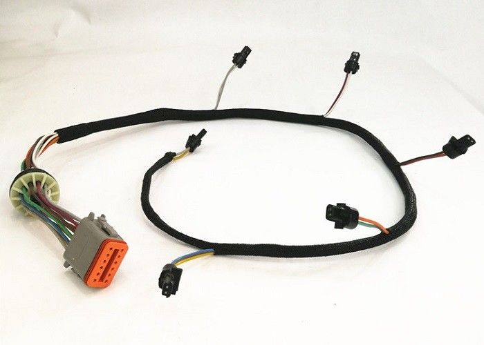 100 - 1800mm Engine Wiring Harness Assembly For Caterpillar Cat C7 Excavator