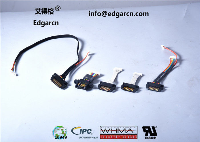 Professional Customized Game Machine Harness With Black / Red / White Color