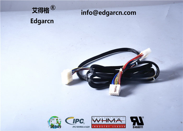 Flat Idc Cable Assembly Ce Rohs Approval , Gaming Custom Power Cables