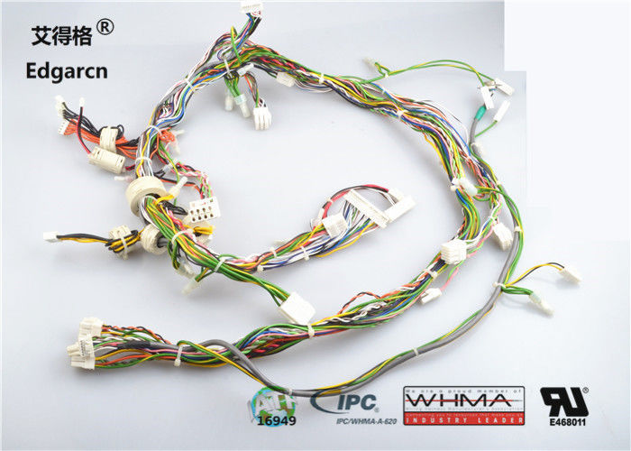 200mm - 301mm Wire Harness Assembly Over Molded For Gps Harness Kits