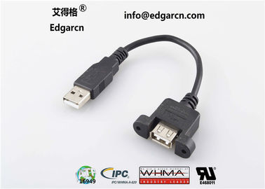 Straight Data Communication Cable Usb Type A Female To Male Length 100mm