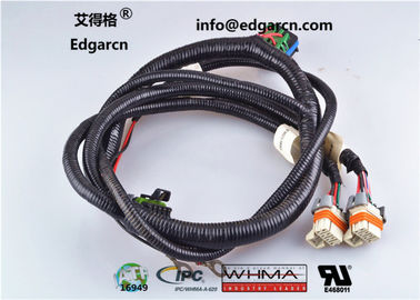 Vehicle Electronic Wiring Harness Ul Approved Customized For Whma / Ipc620