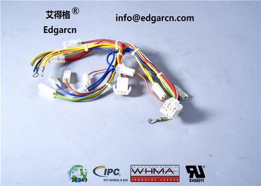 Crimping Industrial Cable Assemblies Customized Length Iso9001 Approved