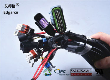 Customized Universal Automotive Wiring Harness With Whma / Ipc620 Ul Approved