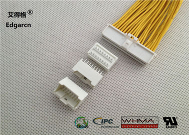 2mm Pvc Molex Microclasp Pitch , 16 Pin Wire To Board Power Connector