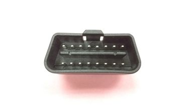 16 Pin Standard J1962 Obd Connector Pvc Material Injection Molded In Black